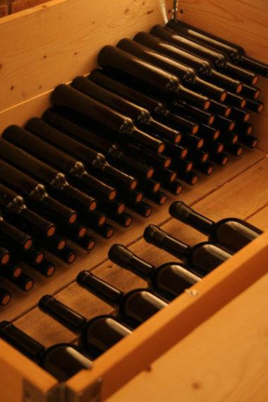 Invecchiamento bottiglie di Amarone