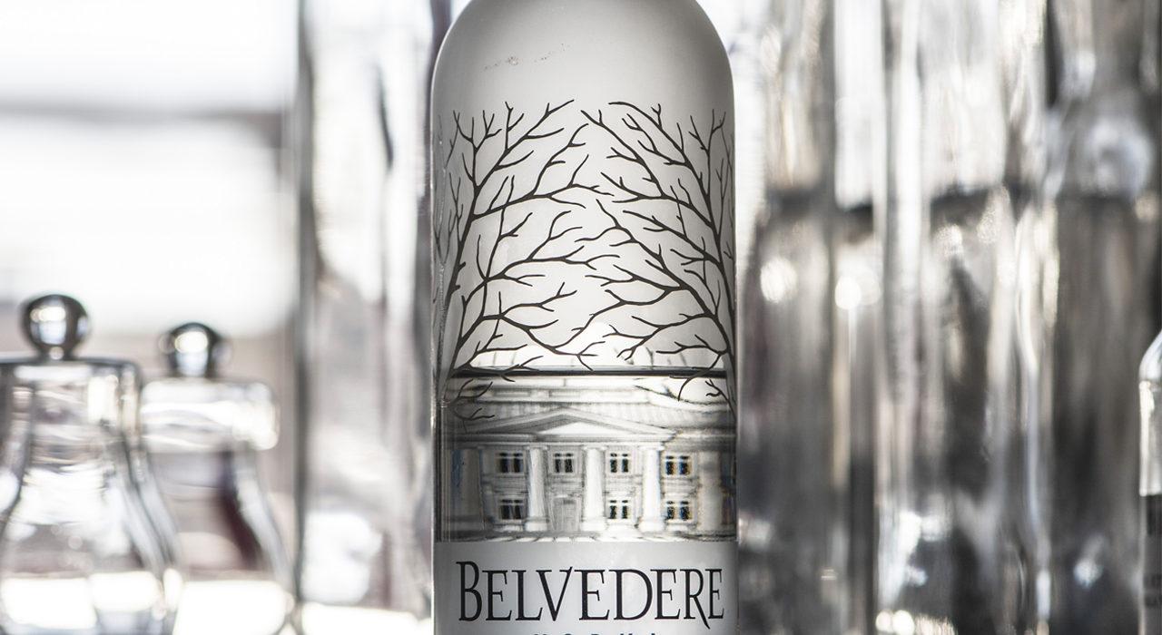Bottiglia di Belvedere vodka