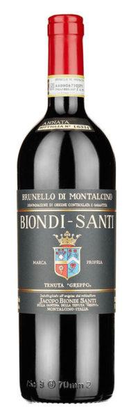 Bottiglia di Brunello di Montalcino 2011 Biondi Santi