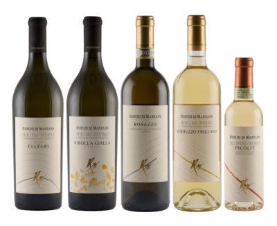 Ronchi di Manzano - I CRU, vini bianchi