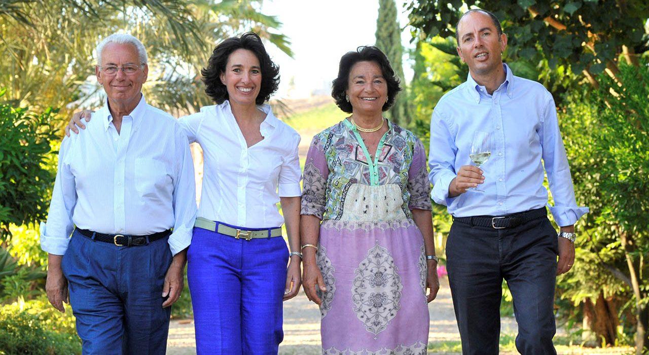 José Rallo e famiglia - Donnafugata