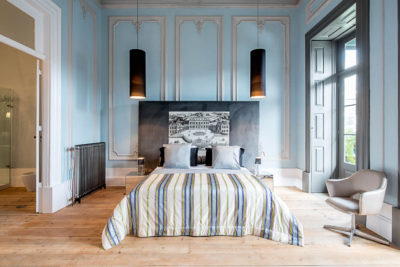 suite azzurra - Palácio Fenizia