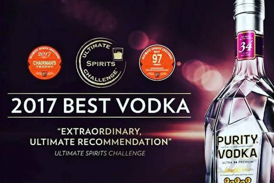 2017 Purity Vodka
