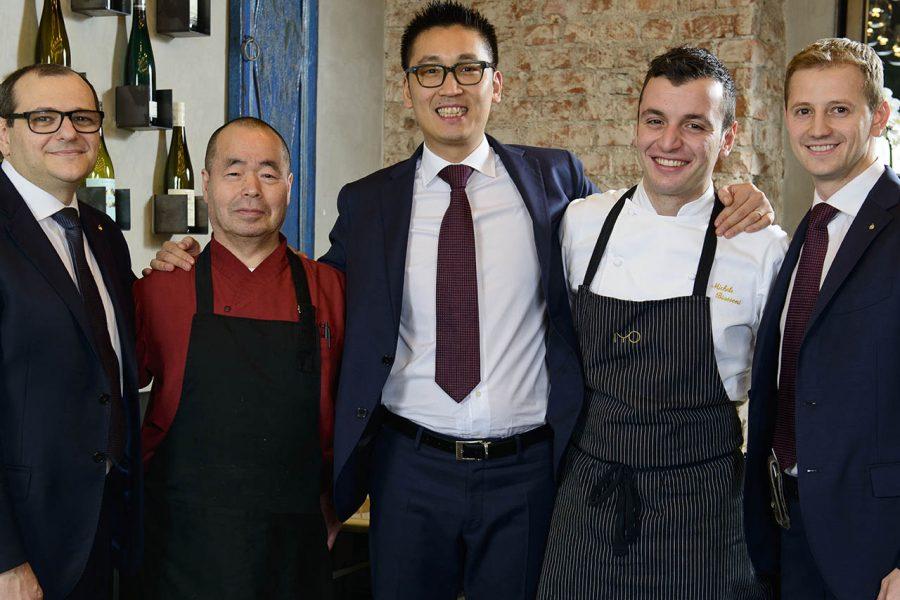 Claudio Liu proprietario del ristorante IYO