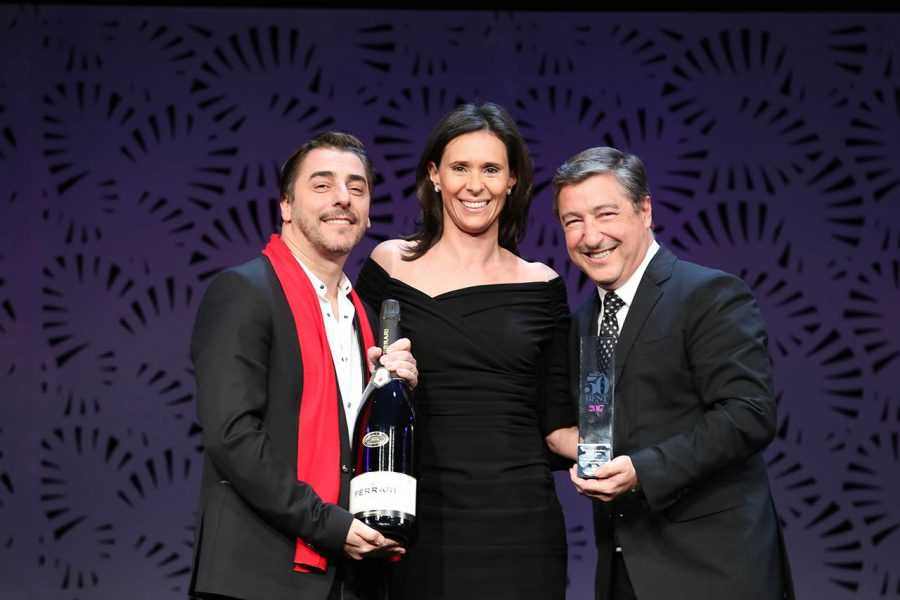 Jordi e Joan Roca proprietari de El Celler de Can Roca premiati al Ferrari Trento Art of Hospitality