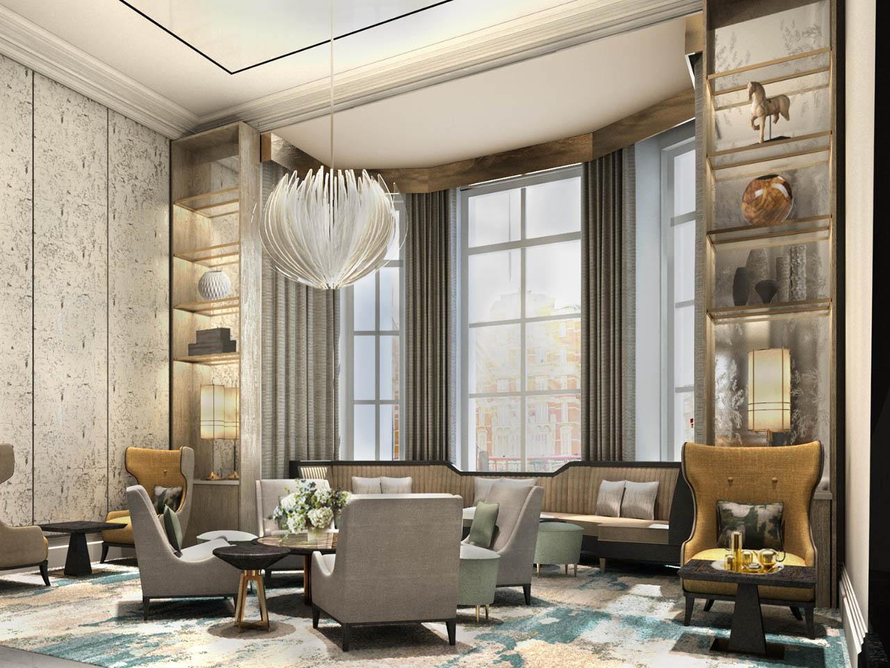 Mandarin Oriental, London, Lobby Lounge
