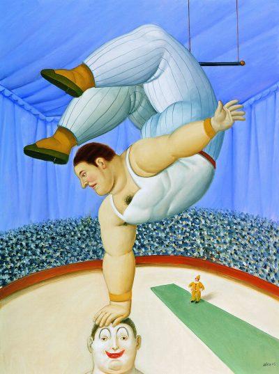 Fernando Botero, Contorsionista