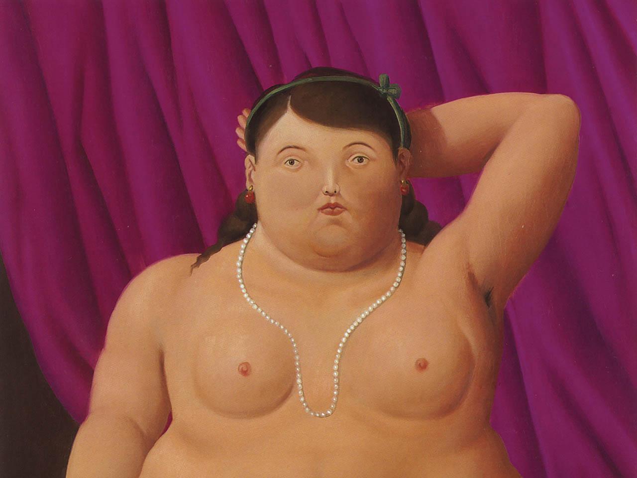 Botero, Donna seduta
