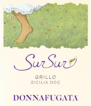 Donnafugata, Grillo, Etichetta SurSur