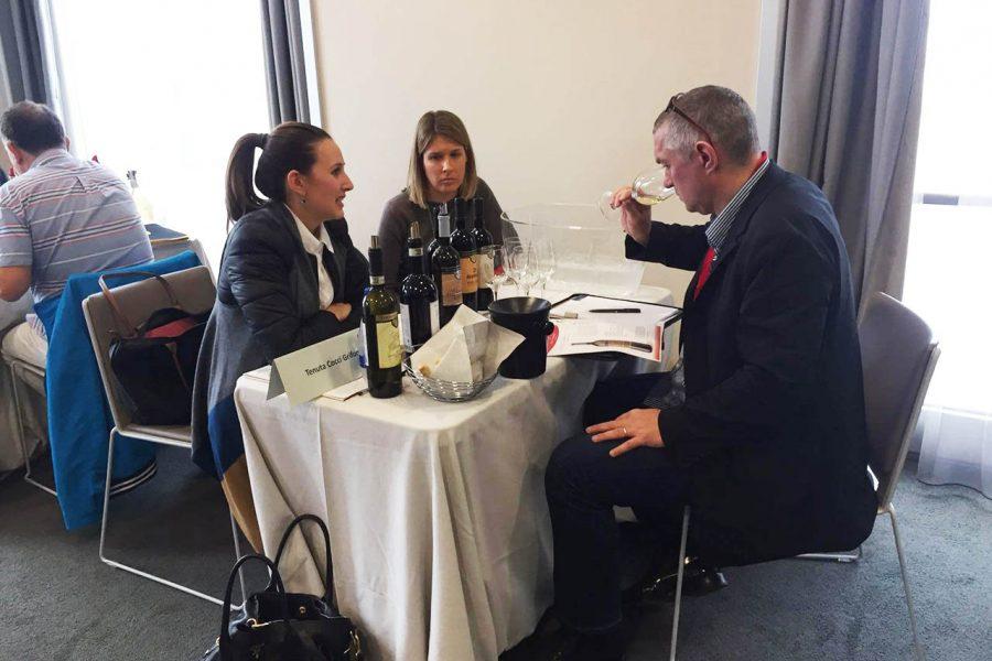 International Wine Traders, tasting