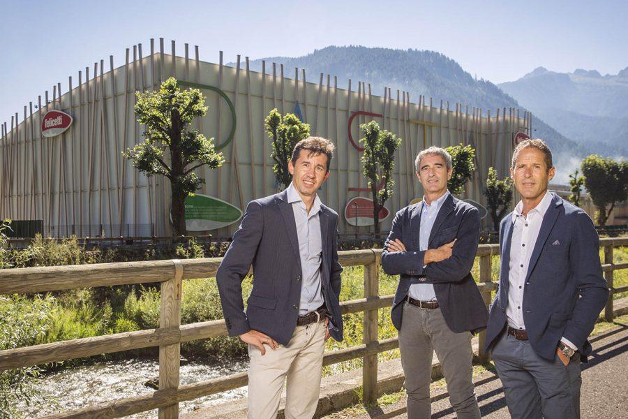 Pastificio Felicetti, Stefano, Riccardo e Paolo Felicetti