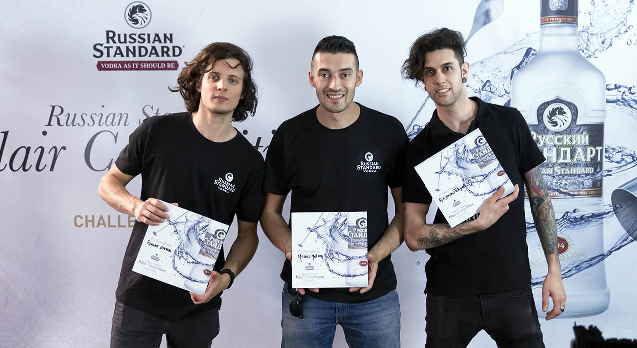 Russian Standard Flair Competition, Milano, finalisti