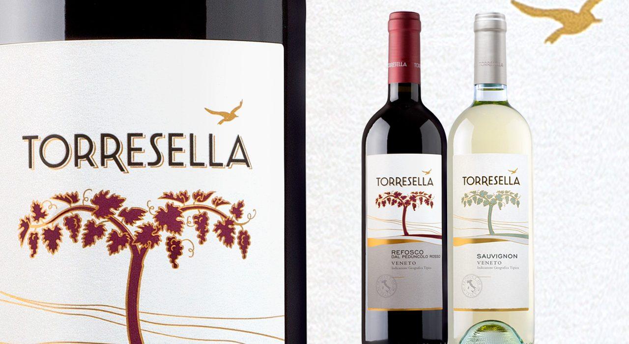 Toresella, etichetta