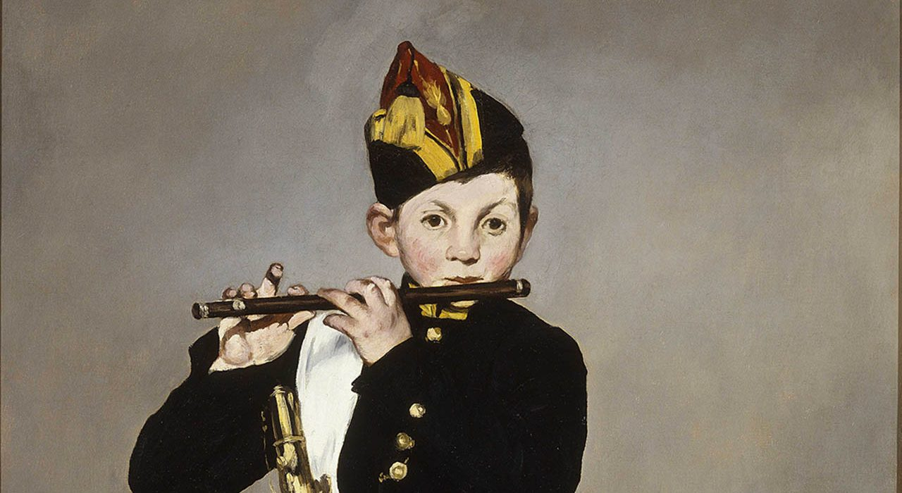 Édouard Manet, Il pifferaio