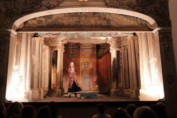 Castello di Meleto, teatro