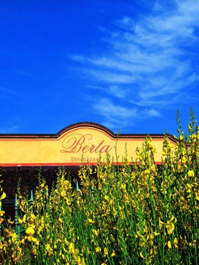Distilleria Berta, fiori