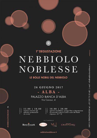Nebbiolo Noblesse 2017, locandina