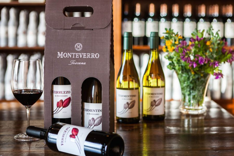 Monteverro, tavolo