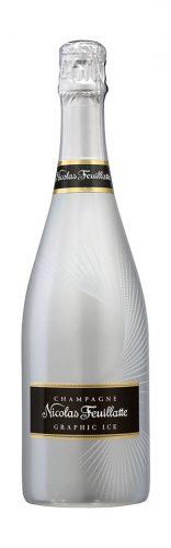 Nicolas Feuillatte, graphic ice, bottiglia