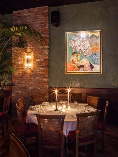 Saigon, Milano, tavolo