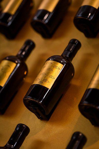Venissa, Biennale Arte Venezia, dettaglio bottiglia