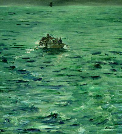 Édouard Manet, La Fuga di Rochefort