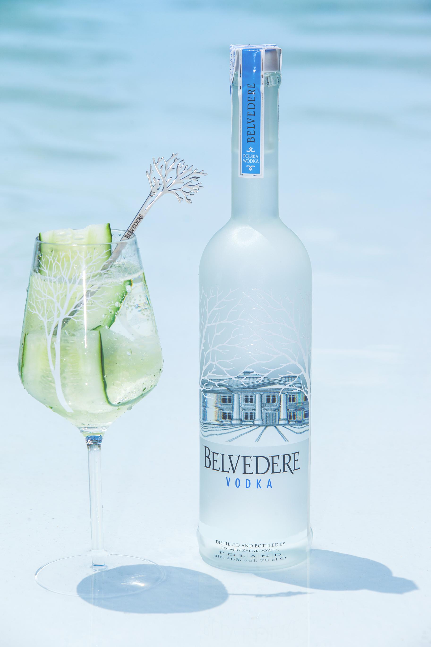Belvedere, cocktail cetriolo