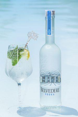 Belvedere, cocktail menta