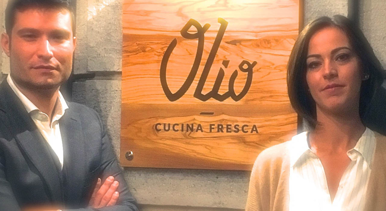 Angelo Fusillo e Paola Totaro, olio