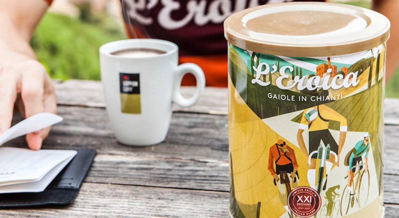 Eroica, caffè sul tavolo