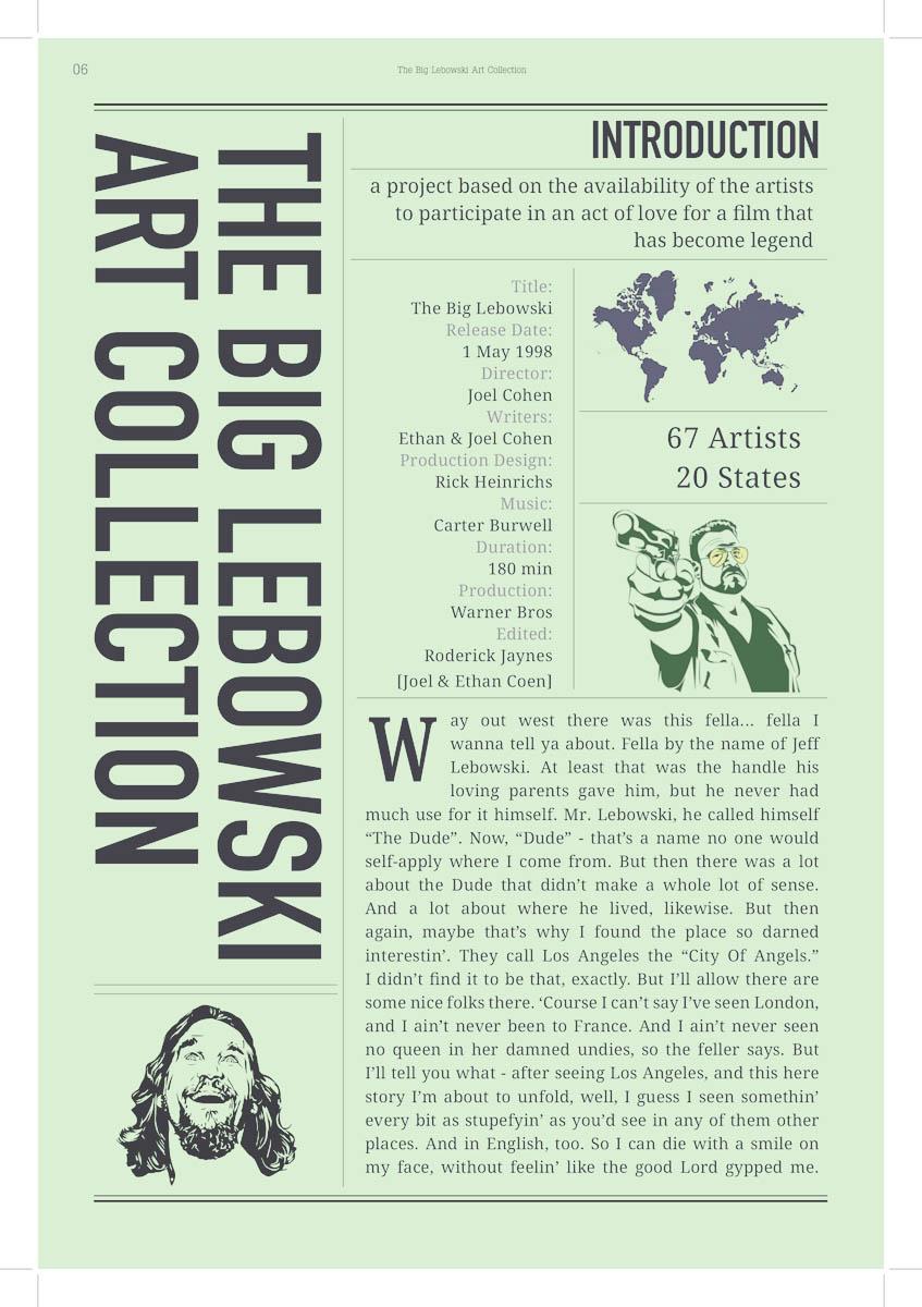 The Big Lebowski Art Collection