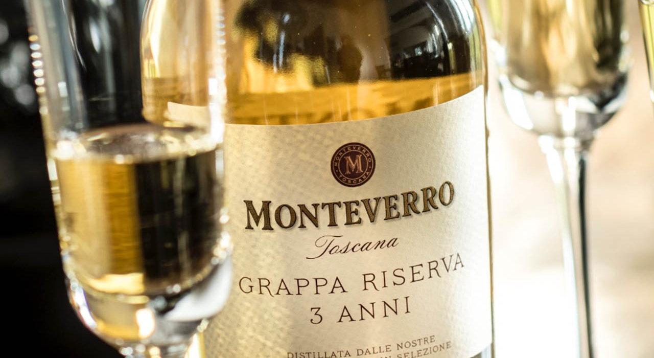 Grappa Monteverro Riserva