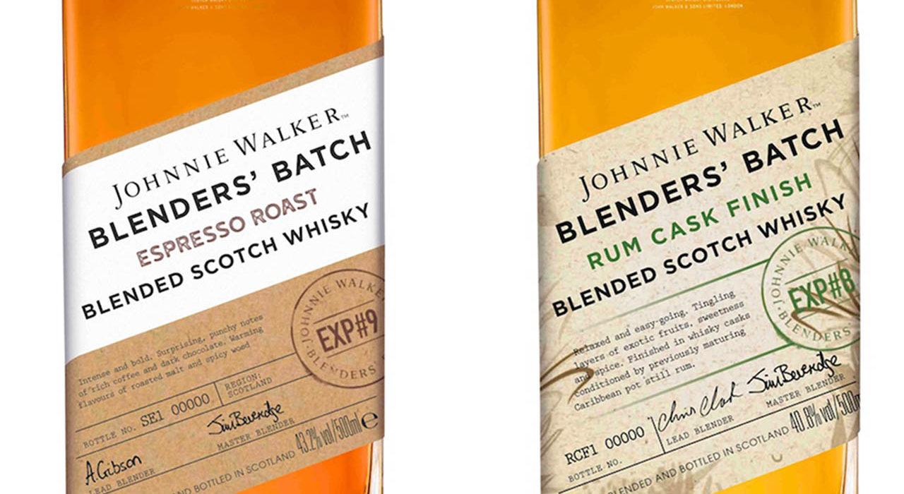 Johnnie Walker Blenders Batch Rum Cask and Espresso Roast