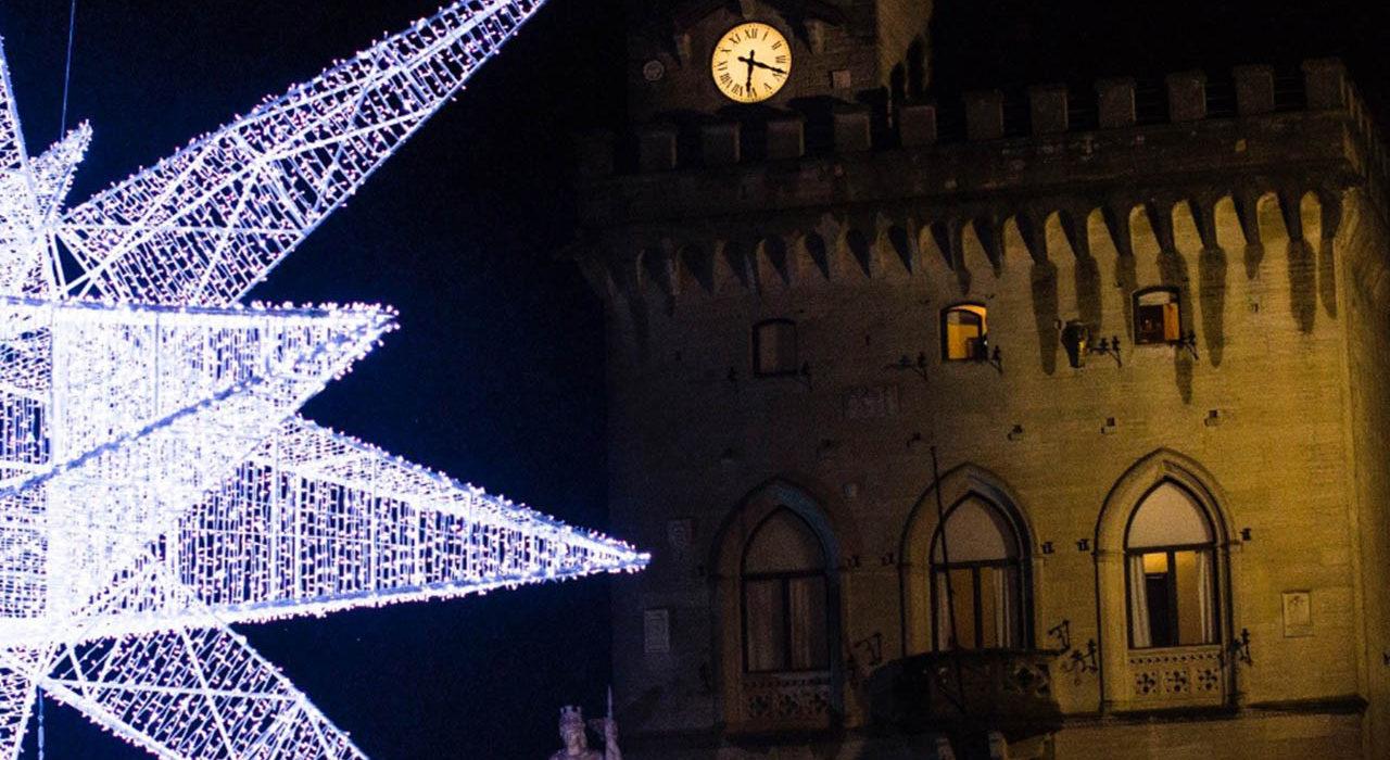 La maxi stella di Piazza della Libertà, San Marino