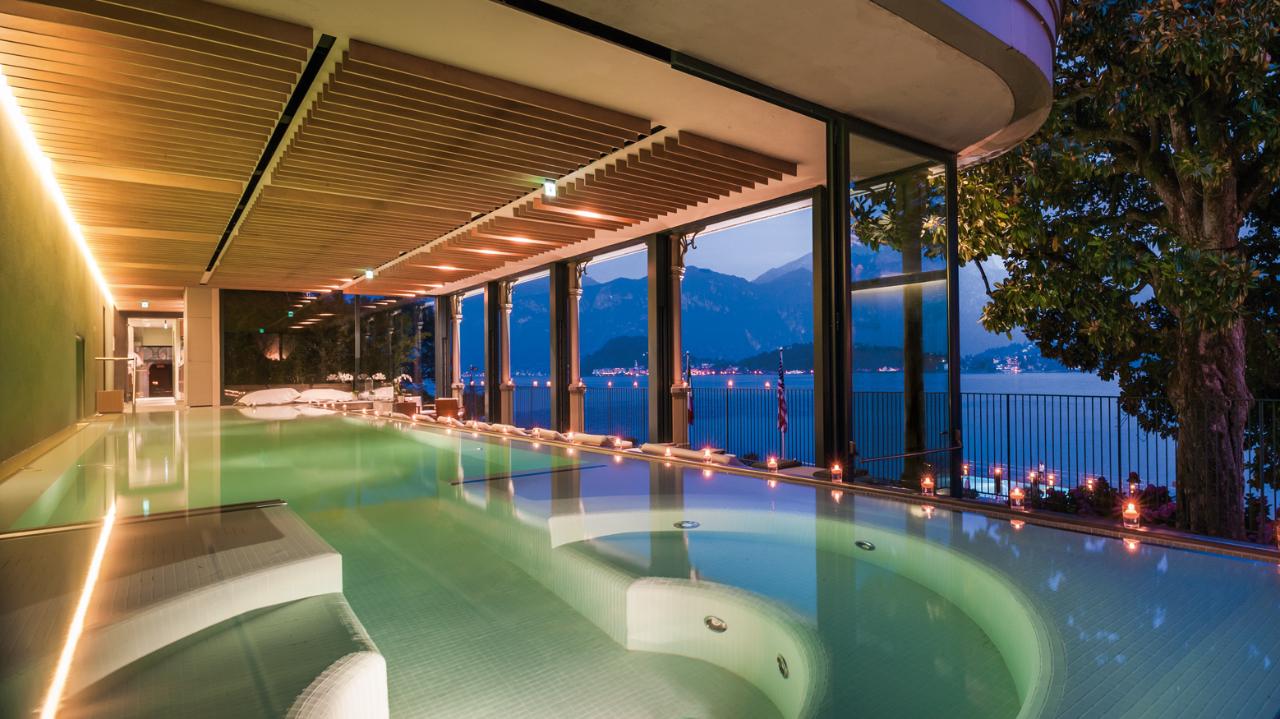 Il gh tremezzo e villa sola cabiati gioielli sul lago di for Cabine al lago della piscina di joe