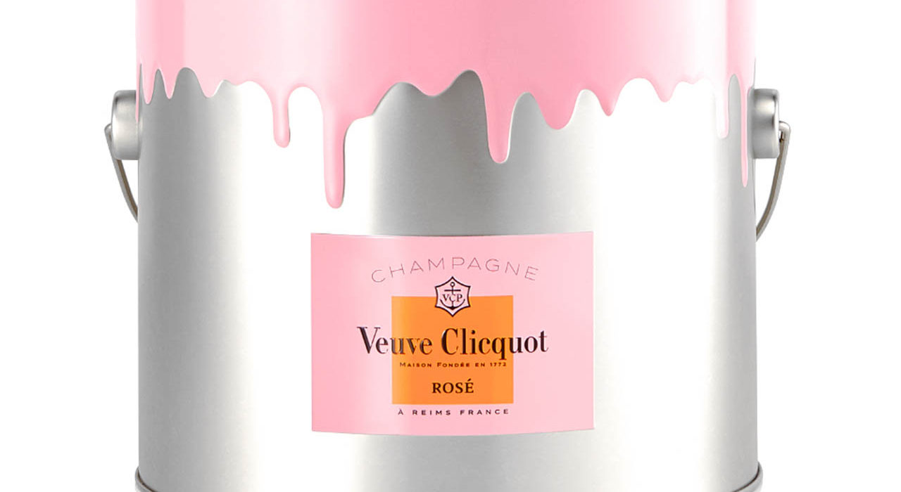 Veuve Clicquot, bucket cake