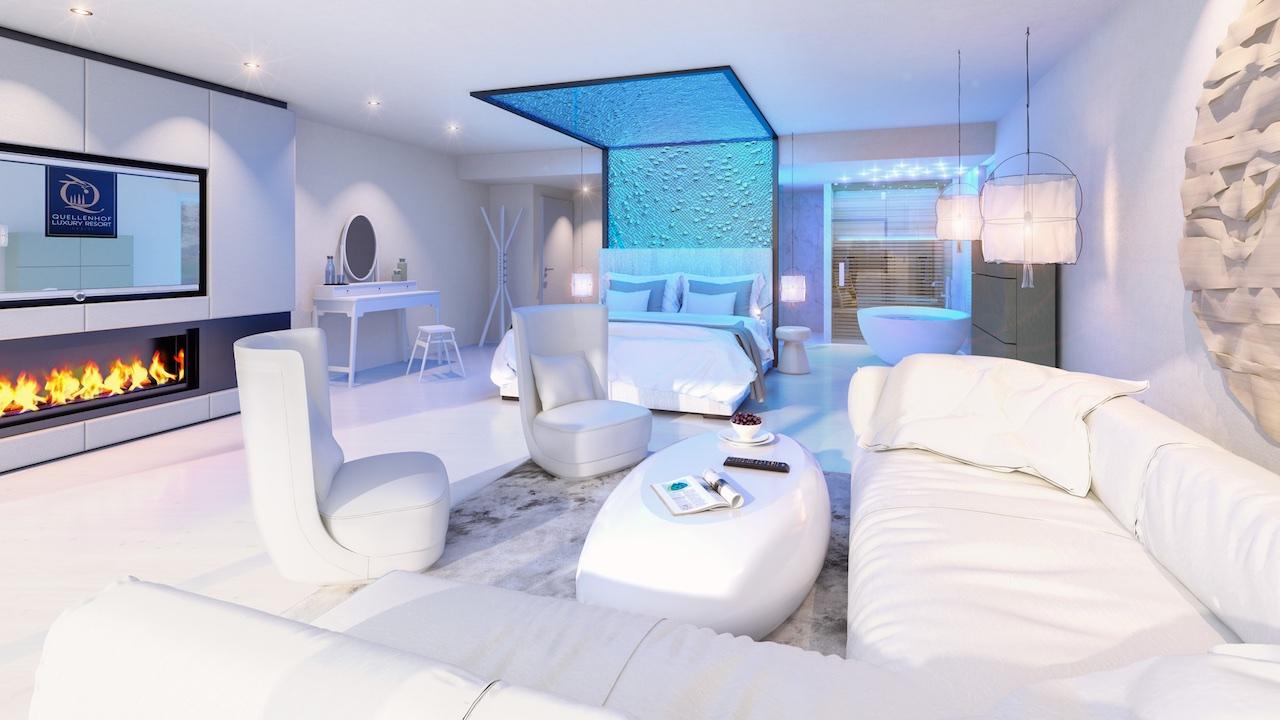 Nel 2019 quellenhof luxury resort lazise apre sul garda for Laghetto balneabile progetto
