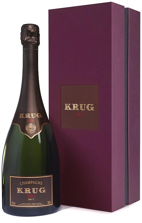 Bottiglia di Krug 2004 millesimato