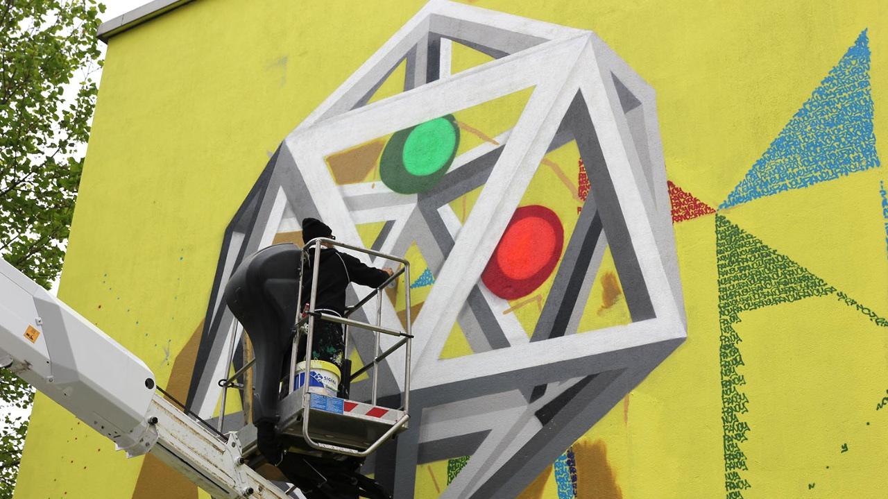 Poli urban colors murales artistici al politecnico di for Politecnico di milano design della moda