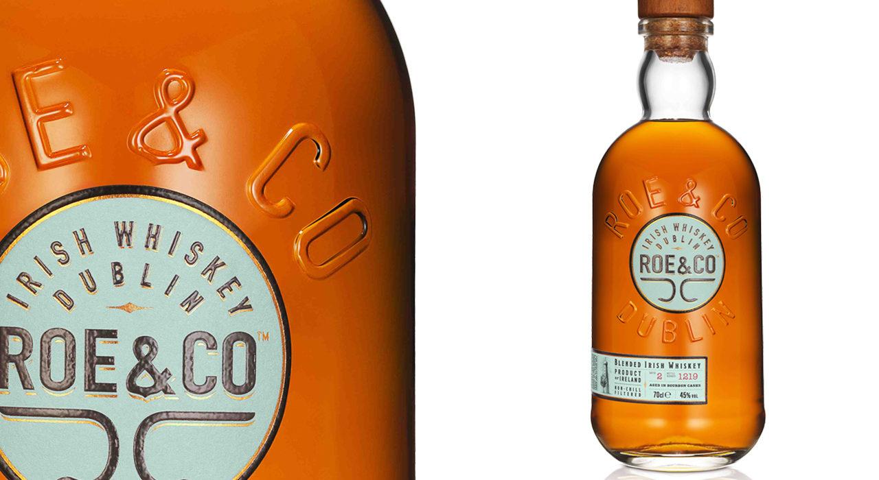Bottiglia di whiskey Roe&Co