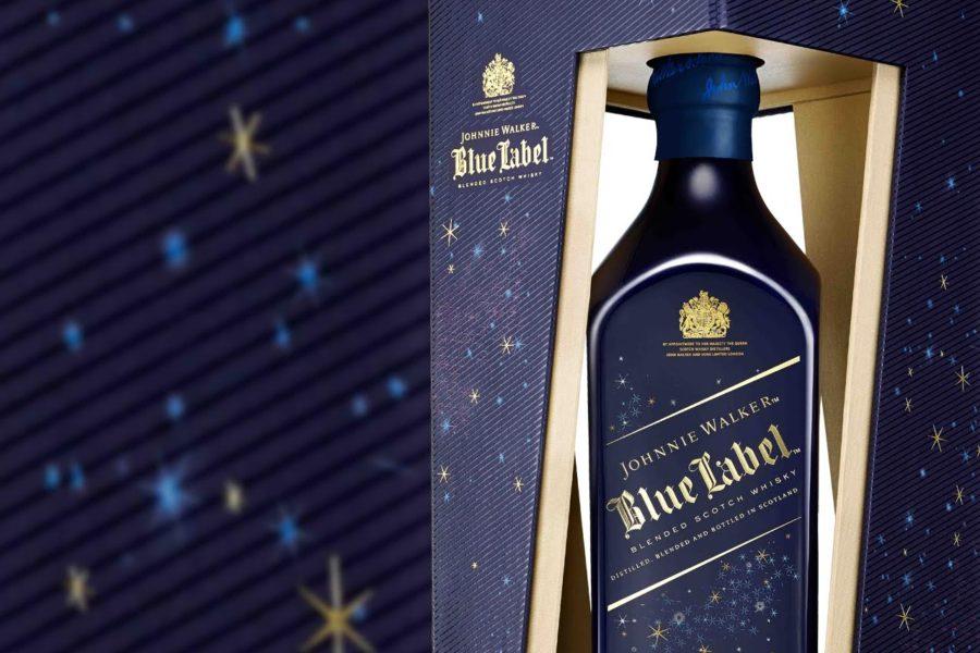 Bottiglia di Johnnie Walker Blue Label Winter Edition