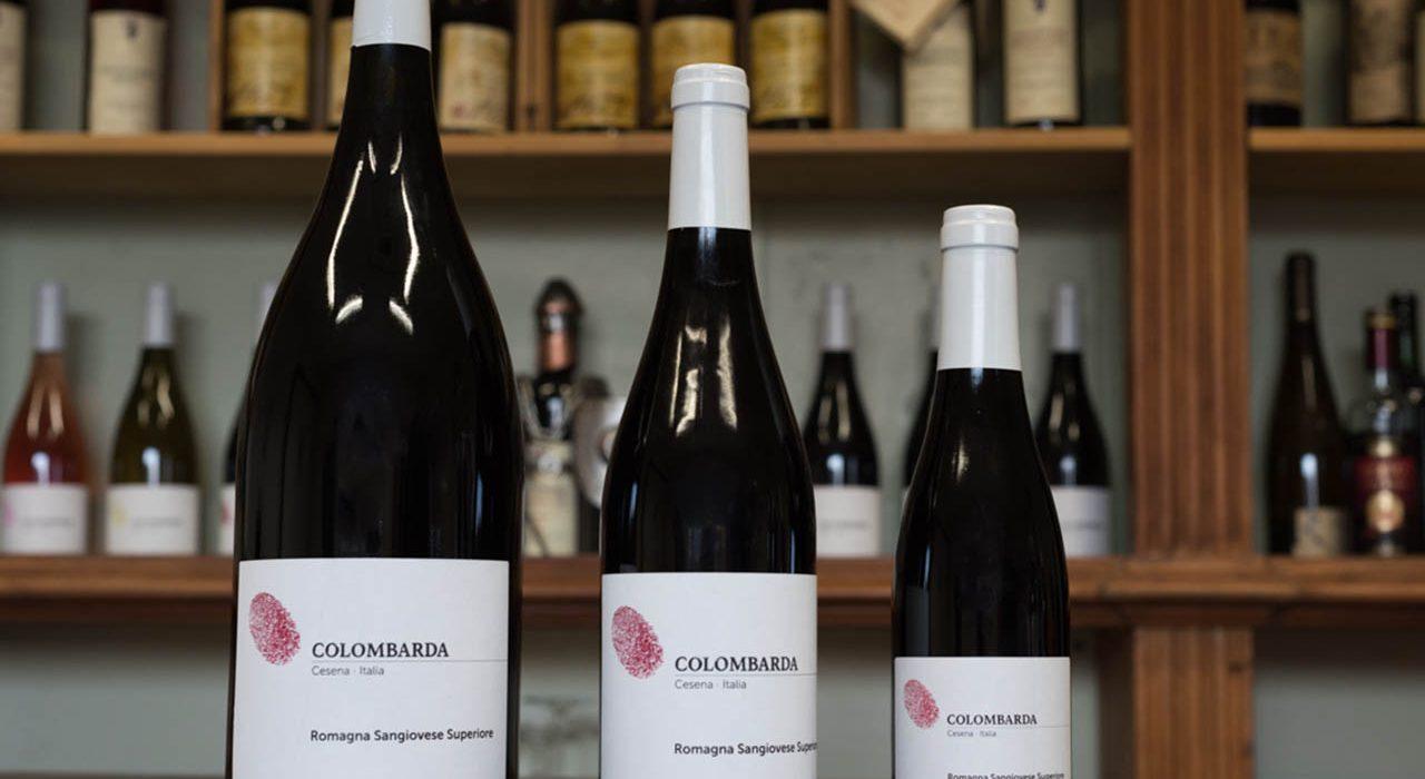 Tenuta Colombarda, bottiglie di Romagna Sangiovese