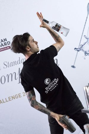 Russian Standard Flair Competition, Milano, concorrente
