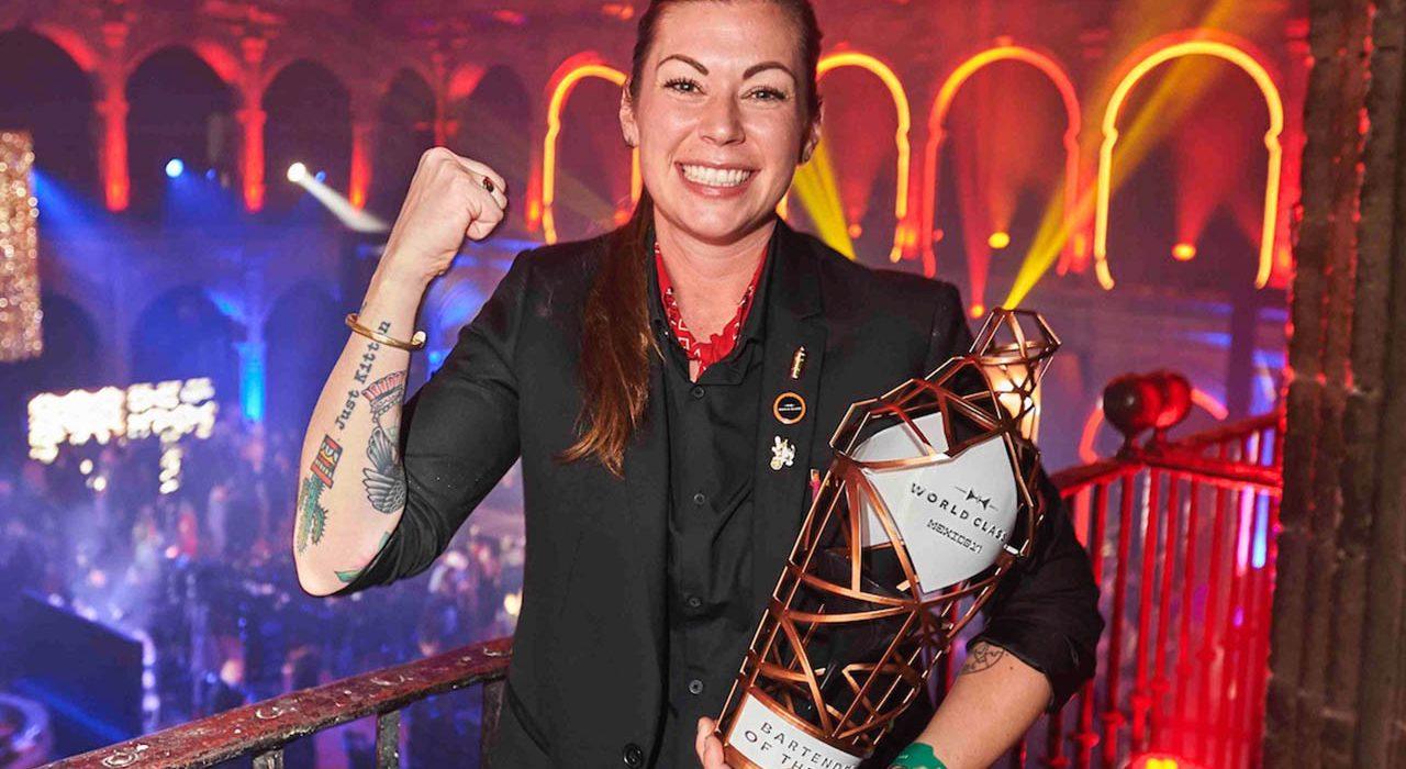 World Class Bartender of the Year Kaitlyn Stewart