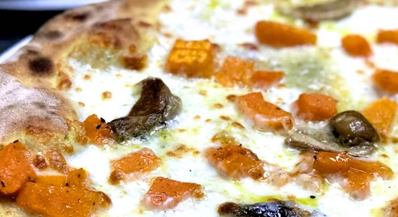 Alma Buona, pizza curcuma