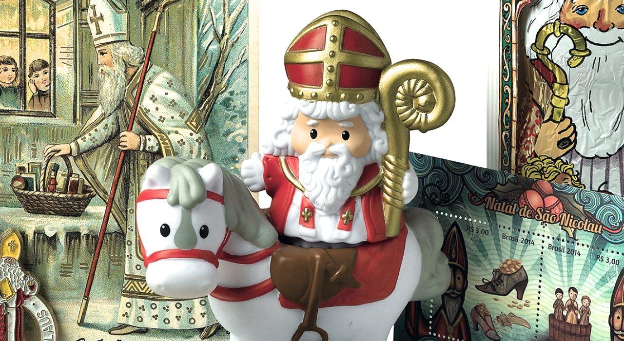 Babbo Natale E San Nicola.Munbam Babbo Natale Esiste James Magazine